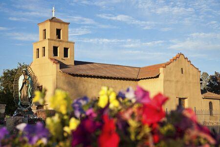 Sanctuary Of Guadalupe, Santa Fe, New Mexico