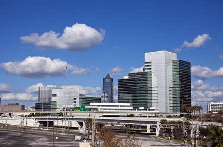 fl: Jacksonville, Florida - skyline Editorial