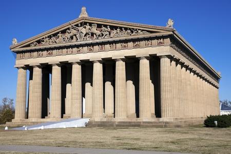 Parthenon in Nashville, Tennessee. Full size replica.