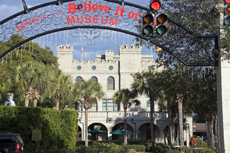 St. Augustine, Florida, USA - December 30 Ripleys Believe It or Not! Museum in St. Augustine, Florida. The building was built in 1880s.