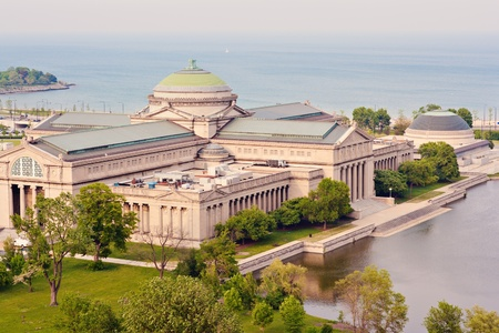 famous industries: Museum of Science and Industry in Chicago, IL.