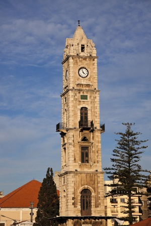 Clock Tower in Tripoli, Lebanon 版權商用圖片