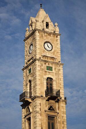 Clock Tower in Tripoli, Lebanon photo