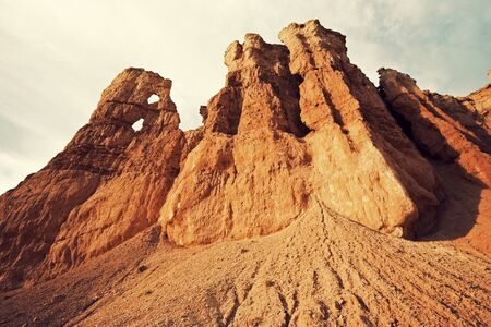bryce canyon: Rock formations in Bryce National Park, Utah Stock Photo