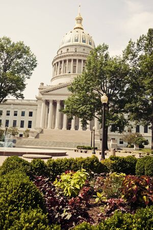 west virginia: State Capitol Building in Charleston, West Virginia, USA
