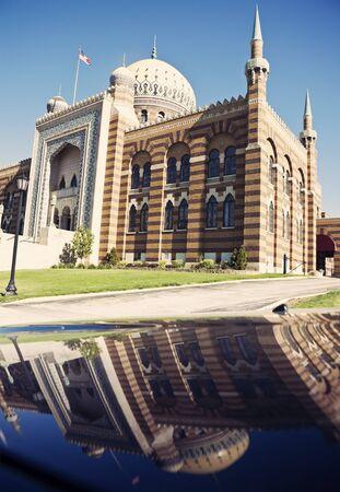 Tripoli Mosque in Milwaukee, Wisconsin Фото со стока