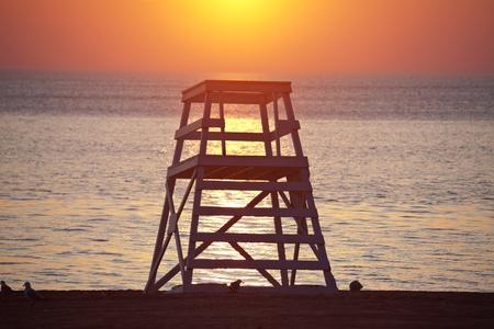 il: Beach by Gold Coast n Chicago, IL