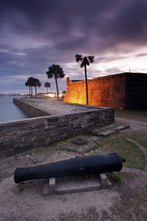 augustine: Fort in St. Augustine, Florida Stock Photo