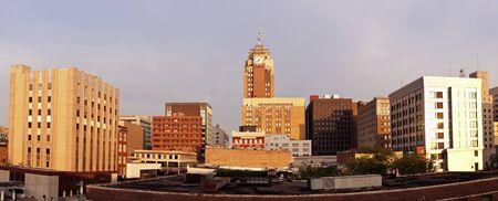 Downtown Lansing, Michigan 版權商用圖片