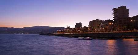 beirut: Architecture of downtown Beirut seen during sunrise
