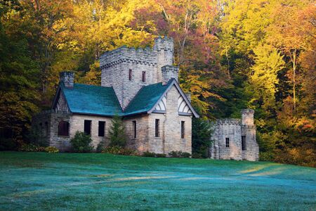 Squires Castle in Willoughby Hills, Ohio