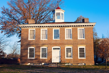 warren: William Trent House on South Warren Street in Trenton, NJ
