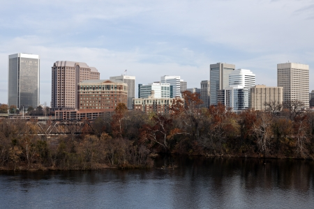 Panorama of Richmond, Virginia