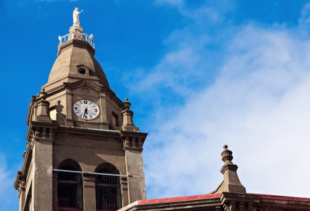 arenas: Church in the center of Punta Arenas, Chile