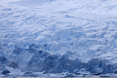 antarctic peninsula: Antarctica landscape - glacier in the Antarctic Peninsula area Stock Photo