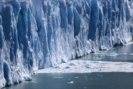 los glaciares: Perito Moreno - Los Glaciares National Park, Argentina Stock Photo