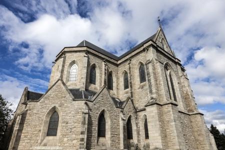 bariloche: Cathedral in San Carlos de Bariloche, Argentina Stock Photo