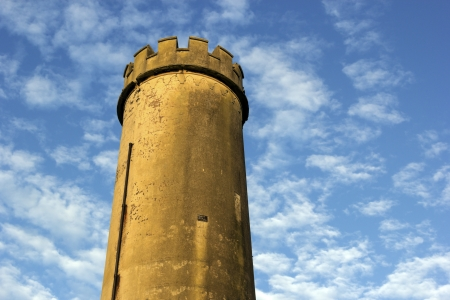 nsw: Old tower in the center of Newcastle, NSW, Australia.