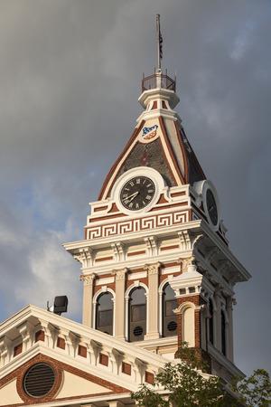 bu: Livingston County - old Courthouse in Pontiac, Illinois