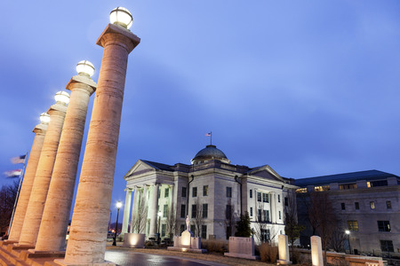Old Boone County Courthouse in Columbia, Missouri, USA Stockfoto