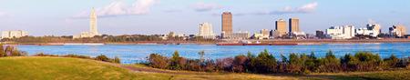 Panorámica Baton Rouge - visto por la tarde