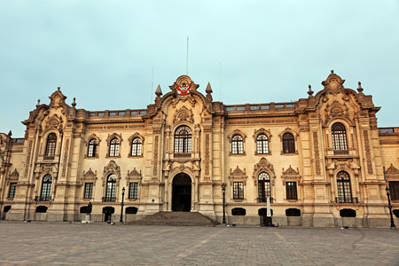 Palacio de Gobierno - Plaza Mayor, Lima, Peru photo