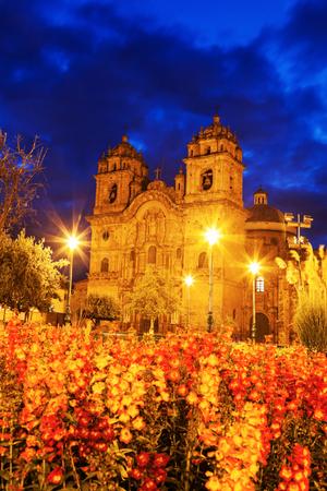 Church of the Society of Jesus - Iglesia de la Compania de Jesus. Cuzco, Peru.