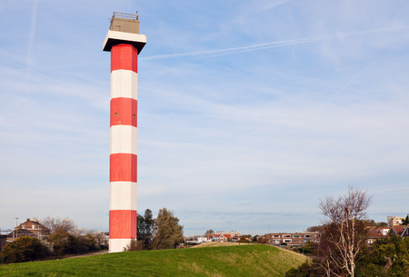 holland: Hoek van Holland - lighthouse. Hoek van Holland, South Holland, Netherlands.