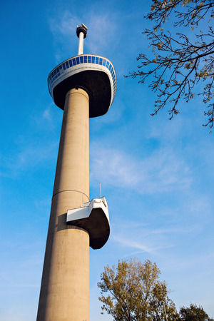 Euromast in Rotterdam, South Holland, Netherlands.