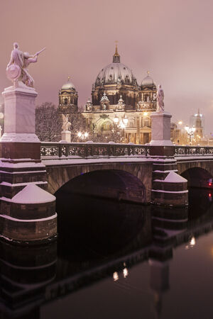 collegiate: Berlin Cathedral - Evangelical Supreme Parish and Collegiate Church. Berlin, Germany