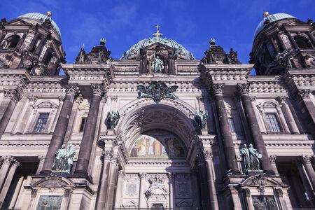 collegiate: Berlin Cathedral - Evangelical Supreme Parish and Collegiate Church. Berlin, Germany