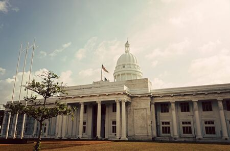 townhall: Colombo Town Hall Stock Photo