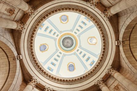 winnipeg: Dome of Manitoba Legislative Building in Winnipeg Editorial