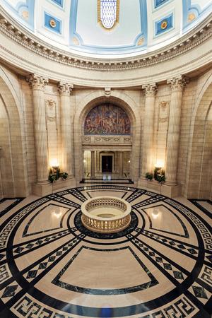 winnipeg: Interior of Manitoba Legislative Building in Winnipeg, Manitoba, Canada