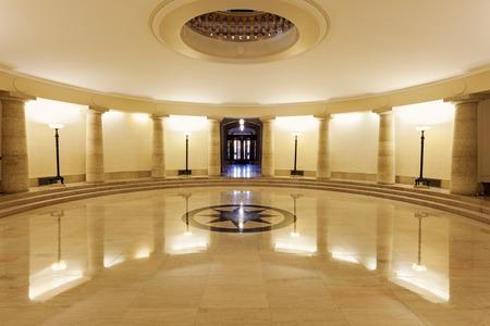 winnipeg: Inside of Manitoba Legislative Building in Winnipeg, Manitoba, Canada