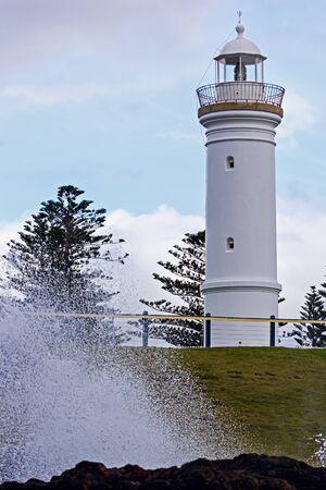 kiama: Kiama Lighthouse. Kiama, New South Wales, Australia.