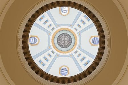 winnipeg: Dome of Manitoba Legislative Building in Winnipeg, Manitoba, Canada