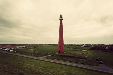 the netherlands: Lange Jaap Lighthouse (Kijkduin Light). Huisduinen, Netherlands