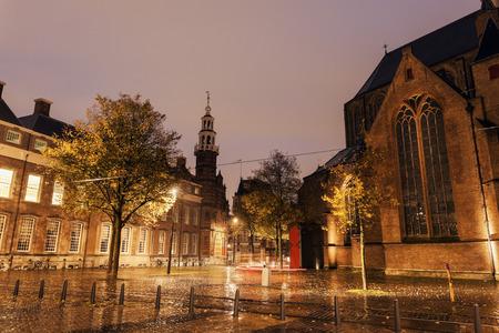 'the hague': Rainy morning in Hague - Old City Hall