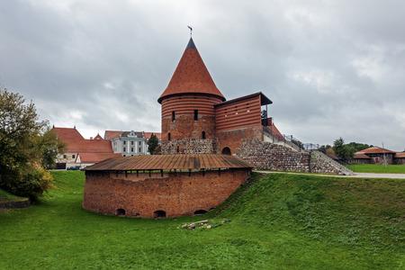 kaunas: Kaunas Castle in Kaunas, Lithuania. Editorial