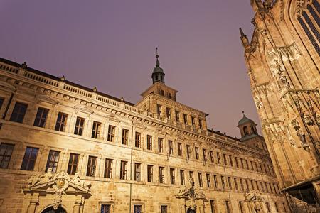 old town hall: Nuremberg old town hall - Lochgefaengnisse. Nuremberg, Bavaria, Germany Editorial