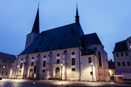 paul: Church St. Peter and Paul. Weimar, Thuringia, Germany Stock Photo