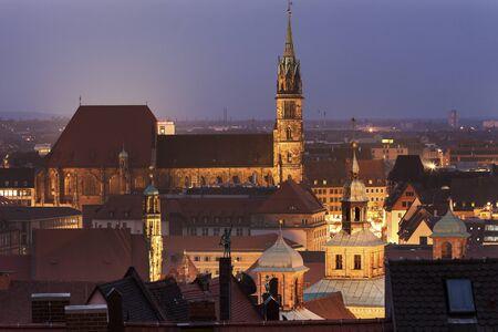 iglesia: Iglesia de San Sebaldus en N�remberg, Baviera, Alemania