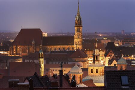 church architecture: St. Sebaldus Church in Nuremberg, Bavaria, Germany