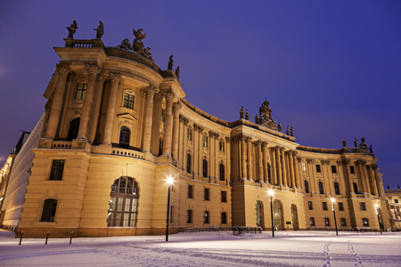 old library: Old Library during the sunrise. Berlin, Germany