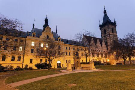 municipal court: New Town Hall and Prague Municipal Court. Prague, Czech Republic Editorial