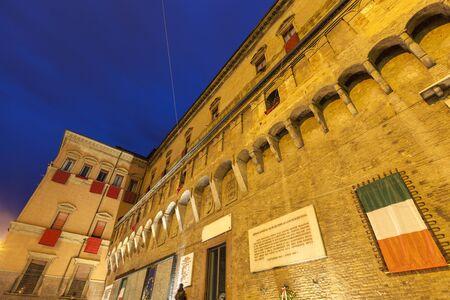 bologna: Architecture of Bologna.  Bologna, Emilia-Romagna, Italy Stock Photo