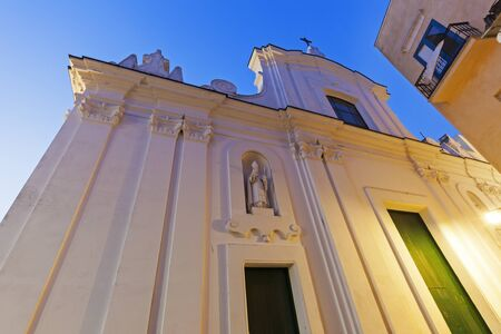 stephen: Church of St. Stephen in Capri. Capri, Campania, Italy