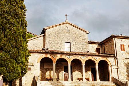 san marino: San Quirino Church in San Marino. San Marino, San Marino