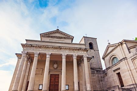 san marino: Basilica di San Marino seen day time